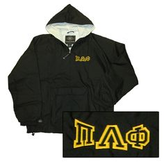 Greek Pullover Jacket with Monogram $39.99 #custom #greek #apparel #embroidery