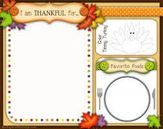 thanksgiving placemats - Google Search