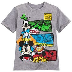Goofy, Donald Duck and Mickey Mouse Tee for Boys - Want for Dorien!!!!
