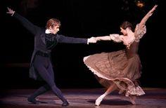 The Royal Ballet performing John Cranko's Onegin at the Royal Opera House