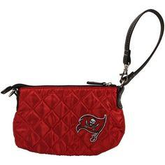 Tampa Bay Buccaneers Quilted Wristlet, Dark Red by Little Earth. $10.89. NFL Tampa Bay Buccaneers Quilted Wristlet, Dark Red