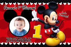 Mickey mouse 1st birthday invitations ideas mickey mouse minnie mouse birthday invitations templates filmwisefo