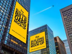 Free Outdoor Building Advertising Billboard Mock-up PSD File by Zee Que | Designbolts