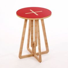 Printed Table – Red from Colour-Pop Tables