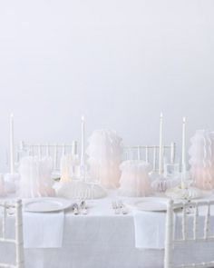 """See the """"Paper Lantern Centerpieces"""" in our White Wedding Decorations and Favors gallery"""