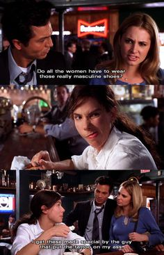 Miss Congeniality-possibly my favorite comeback in this movie hahaa