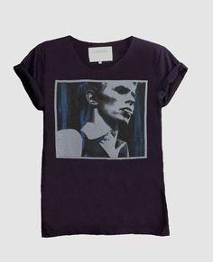 David Bowie II Fine Jersey Unisex T-Shirt