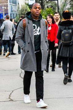 グレーチェスターコート メンズ コーデ特集!洗練度の高い大人の着こなし&おすすめアイテム紹介