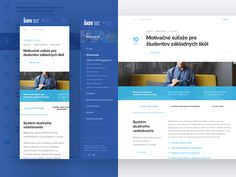 Hi everyone, last weeks I worked for SIOV and theirs very boring website with lot subpages and my challenge was to transform this site into something modern and clearly.. This is just homepage in ...