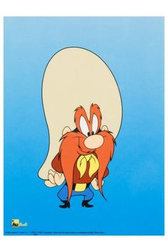 Yosemite Sam Limited Edition Sericel by Looney Tunes  6 x 8