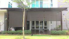 Outdoor Roller Blinds, Garage Doors, Outdoor Decor, Home Decor, Decoration Home, Room Decor, Home Interior Design, Carriage Doors, Home Decoration