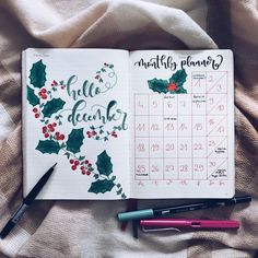 Plan for a Stress-Free Holiday in your Bullet Journal   Zen of Planning   Planner Peace and Inspiration