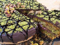 Italian Desserts, Fun Desserts, Italian Recipes, Delicious Desserts, Top Recipes, Cake Recipes, Pistachio Dessert, Nutella Cake, Cake Cookies