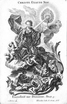 Christian Roman Catholic prayer card
