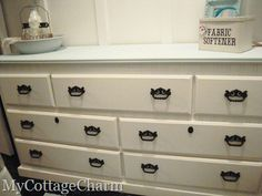how to paint a dresser - My Cottage Charm