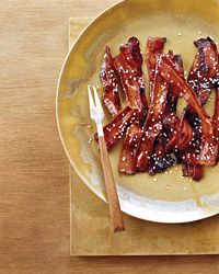 Spicy Honey-Glazed Bacon Recipe - Grace Parisi | Food & Wine