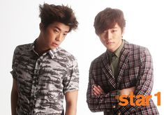 Junho and Woo Young - @ Star1 Magazine June Issue '13