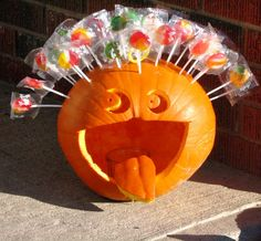pumpkins decorated for fall - Google Search