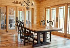 Antique Wormy Chestnut Dining Table - Reclaimed Wood Table - Custom Furniture - Conference Table on Etsy, $4,850.00