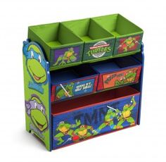 Organizér  na hračky Želvy Ninja