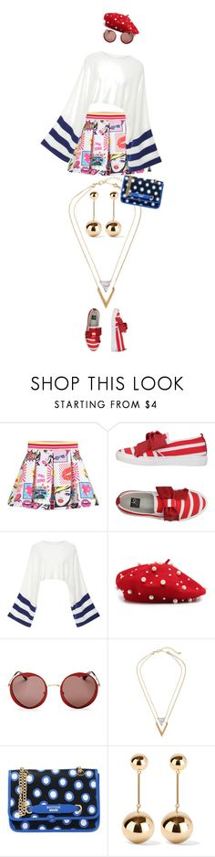 """""""eva2172"""" by evava-c on Polyvore featuring ISLO, Rosetta Getty, Kate Spade, Boutique Moschino and J.W. Anderson"""