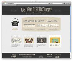 website food cool visual
