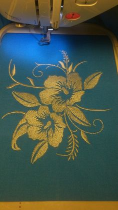 Grand Sewing Embroidery Designs At Home Ideas. Beauteous Finished Sewing Embroidery Designs At Home Ideas. Embroidery Works, Embroidery Motifs, Embroidery Transfers, Learn Embroidery, Vintage Embroidery, Embroidery Kits, Embroidery Tattoo, Flower Embroidery Designs, Free Machine Embroidery Designs