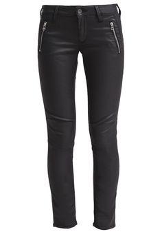 Mavi MELINDA ANKLE Slim Fit Jeans black jeather