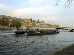 A boat ride by the Seine