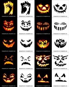 pumpkin carving 290 Free Printable Halloween Pumpkin Carving Stencils Patterns Designs Faces & Ideas The post pumpkin carving appeared first on Halloween Pumpkins. Minion Pumpkin Carving, Scary Pumpkin Carving Patterns, Awesome Pumpkin Carvings, Halloween Pumpkin Carving Stencils, Disney Pumpkin Carving, Scary Halloween Pumpkins, Pumpkin Carving Templates, Halloween Halloween, Pumpkin Painting Stencils