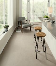 Spaces Hamble™ Indoor Putty Tile | Topps Tiles