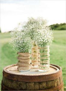 68 Baby's Breath Wedding Ideas for Rustic Weddings