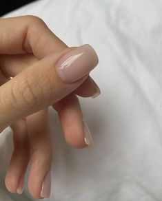 Nude Nails, Gel Nails, Nail Polish, Manicures, Nail Ring, Manicure And Pedicure, Minimalist Nails, Best Acrylic Nails, Dream Nails