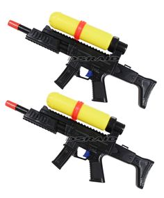 squirt guns that look real Fake ones look real and real ones look fake.