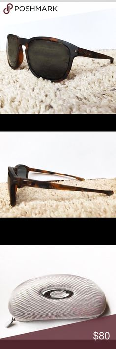 Mens Brown tortious shell Oakley enduros! Oakley sunglasses! Only worn around 6-8 times. In perfect condition and comes with both a hard shell case and a dust cover sleeve (not shown, happy to give pics if you want them) great sunglasses really lightweight and comfortable originally bought for $120! Oakley Accessories Sunglasses