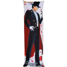 Hot Topic Sailor Moon Tuxedo Mask Body Pillow ($34) ❤ liked on Polyvore featuring multi