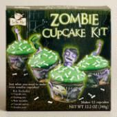 Zombie Cupcake Kit at World Market - Tricks and Treats for the Little Ghouls in Your Life {Faith, Hope, Love, & Luck Survive Despite a Whiskered Accomplice} - #Halloween #Tricks #Treats #Kids #Printables #Bengal #Cat