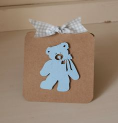 Teddy Bear Baby Shower Invitations Pale Blue by CardinalBoutique, $74.00