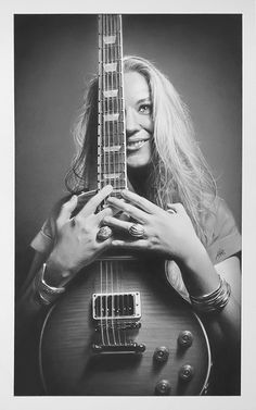 Joanne Shaw Taylor by MalcolmShortt.deviantart.com on @DeviantArt