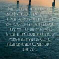 1 John 2:15-17