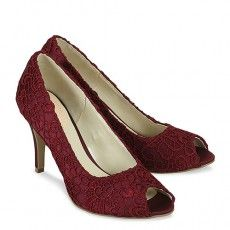 Cosmos Claret #occasionshoes #bridesmaid #prom #party