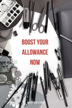 You don't have to rely on your parents for allowance. Make your own with these jobs!   #highschool #makemoney #money #hustlr
