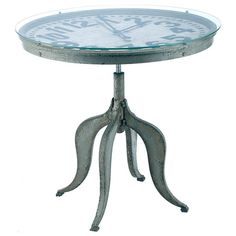 Exeter Clock Side Table from the Barreveld event at Joss and Main!  Want this!