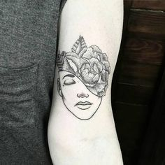 Dotwork tattoo.