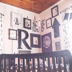 Gallery wall nursery