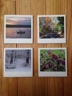 "4""x4"" Coaster Set Coaster Set, My Design, Polaroid Film, Crafts, Crafting, Diy Crafts, Craft, Arts And Crafts, Handmade Crafts"