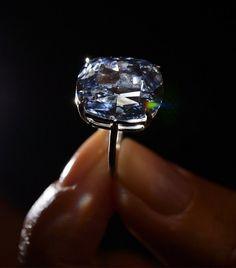 World's most expensive blue diamond - $48.4 Million