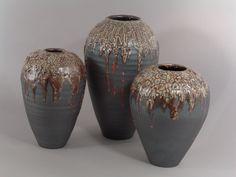 Toros ( Toros Pottery ) Stoneware, gas fired to cone 10   Shino glaze