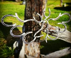 A personal favorite from my Etsy shop https://www.etsy.com/listing/258731500/rustic-horseshoe-decor-angel-wings-deer