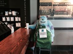 Leigh — Sometimes you go to Starbucks and there's a Sully...